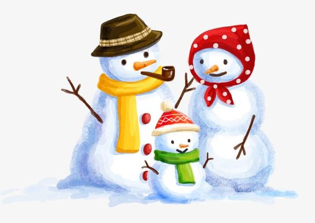 Clipart snowman family 5 » Clipart Portal.