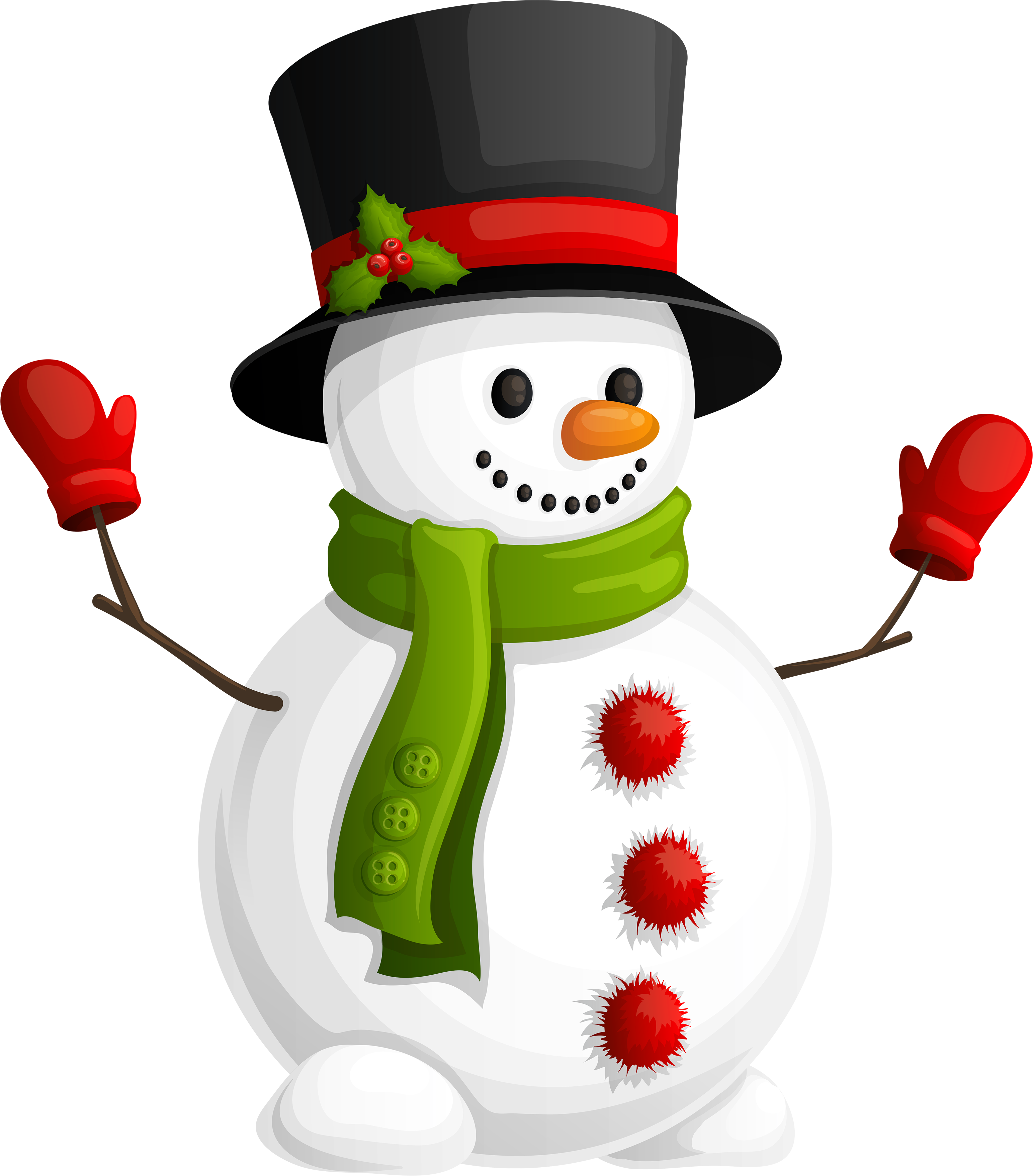 Download Snowman Free Clipart HQ HQ PNG Image.