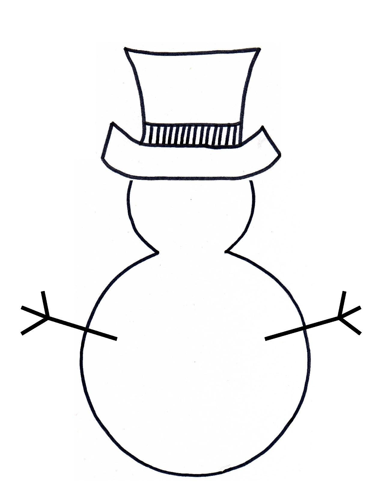 Nurse Snowman Cliparts.