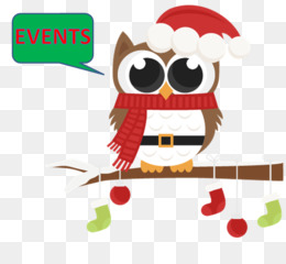 Christmas Owl PNG and Christmas Owl Transparent Clipart Free.