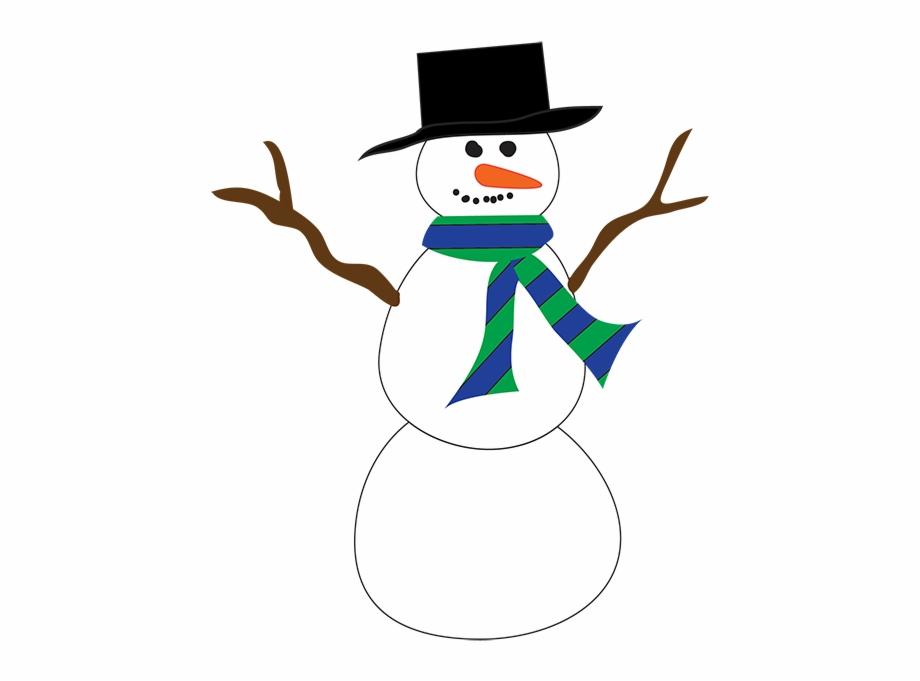 Snowman Clipart Cartoon.