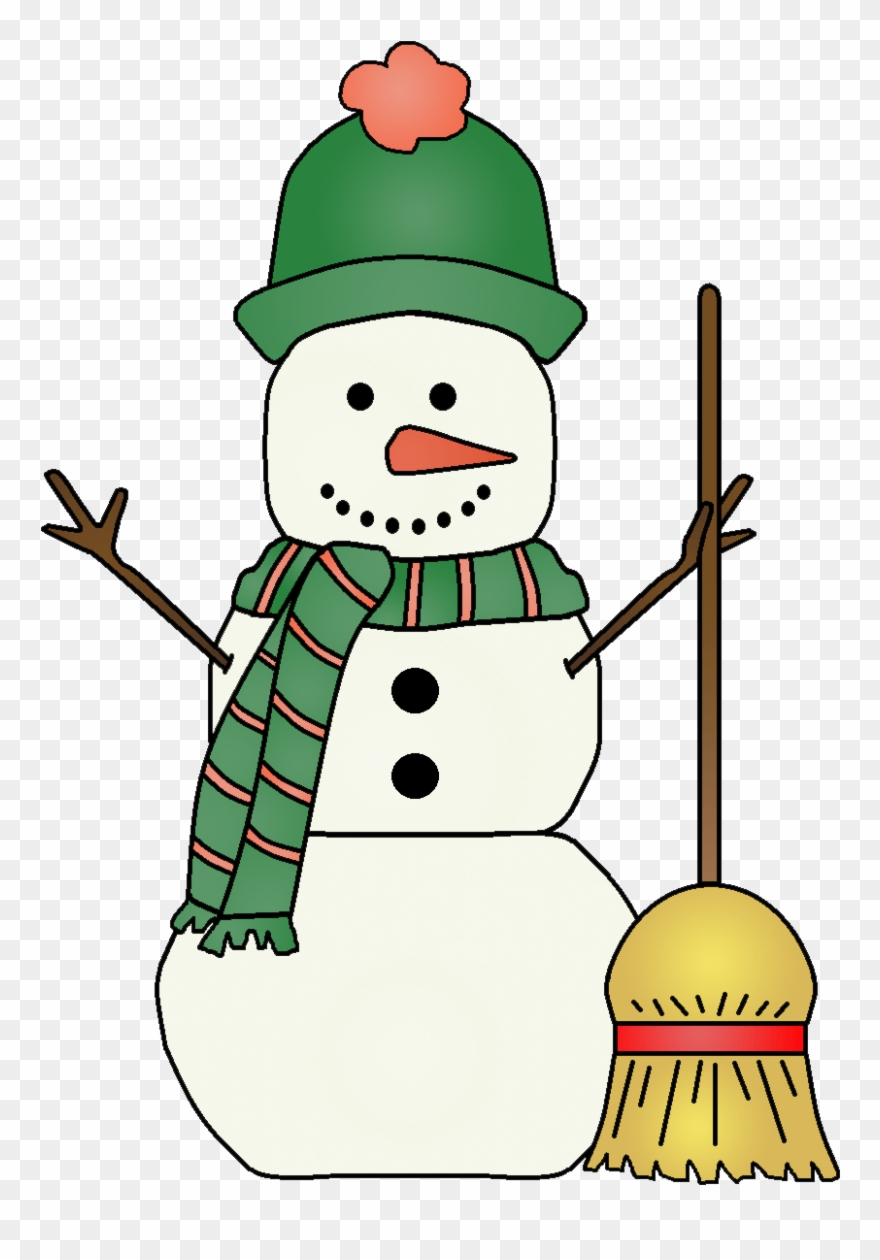 Singing Snowman Clipart.