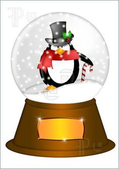 You can use a snow globe clipart to design a website logo or you.