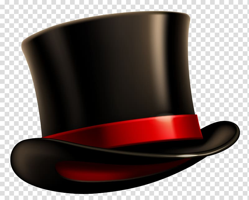 Top hat Snowman , Brown Hat transparent background PNG.