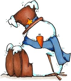 snowman/he would be cute painted and given as a gift!.
