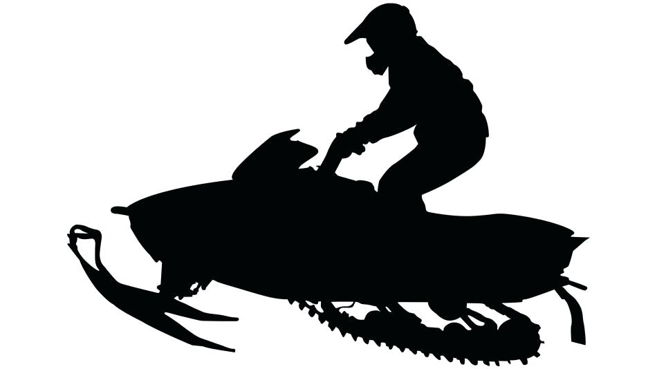 snowmobile clipart.