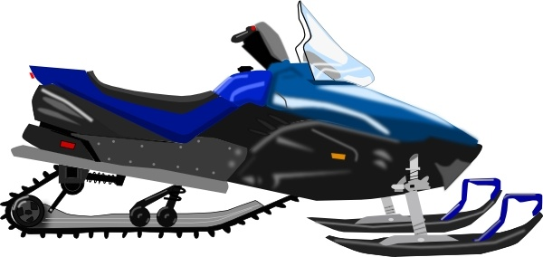 Snowmobile clip art Free vector in Open office drawing svg ( .svg.
