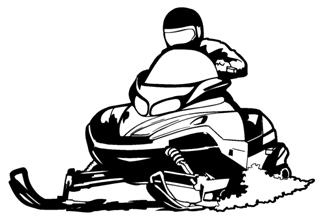 Showing post & media for Snowmobile clip art cartoon.