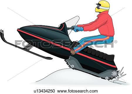Snowmobile Clip Art and Illustration. 297 snowmobile clipart.