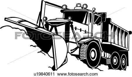 Snow plow Clip Art Royalty Free. 62 snow plow clipart vector EPS.