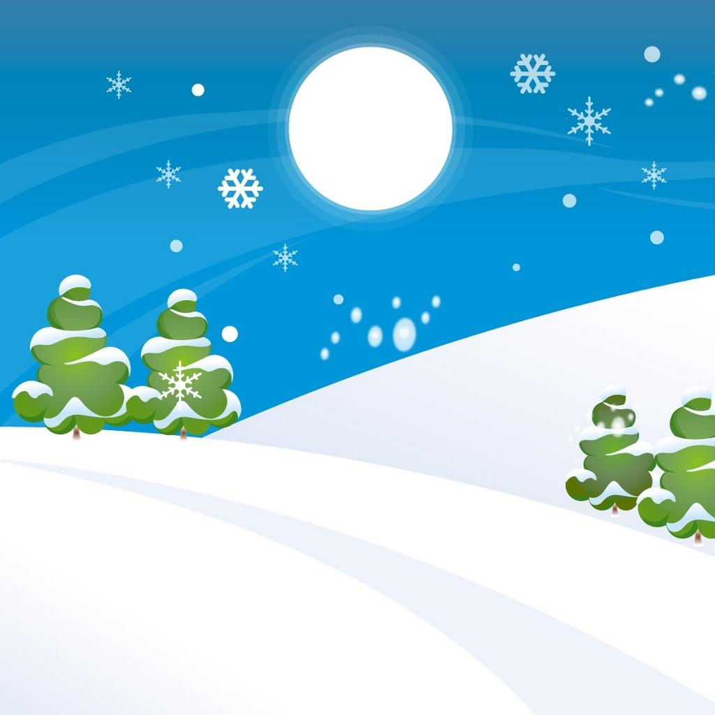 Christmas clip art snow.