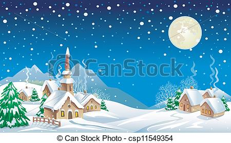 Snowscape Illustrations and Clipart. 325 Snowscape royalty free.