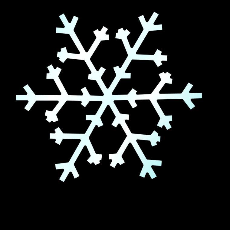 Snowy house clipart.
