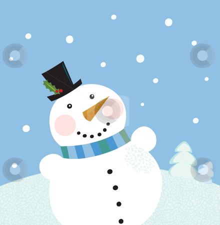 It's snowy clipart.