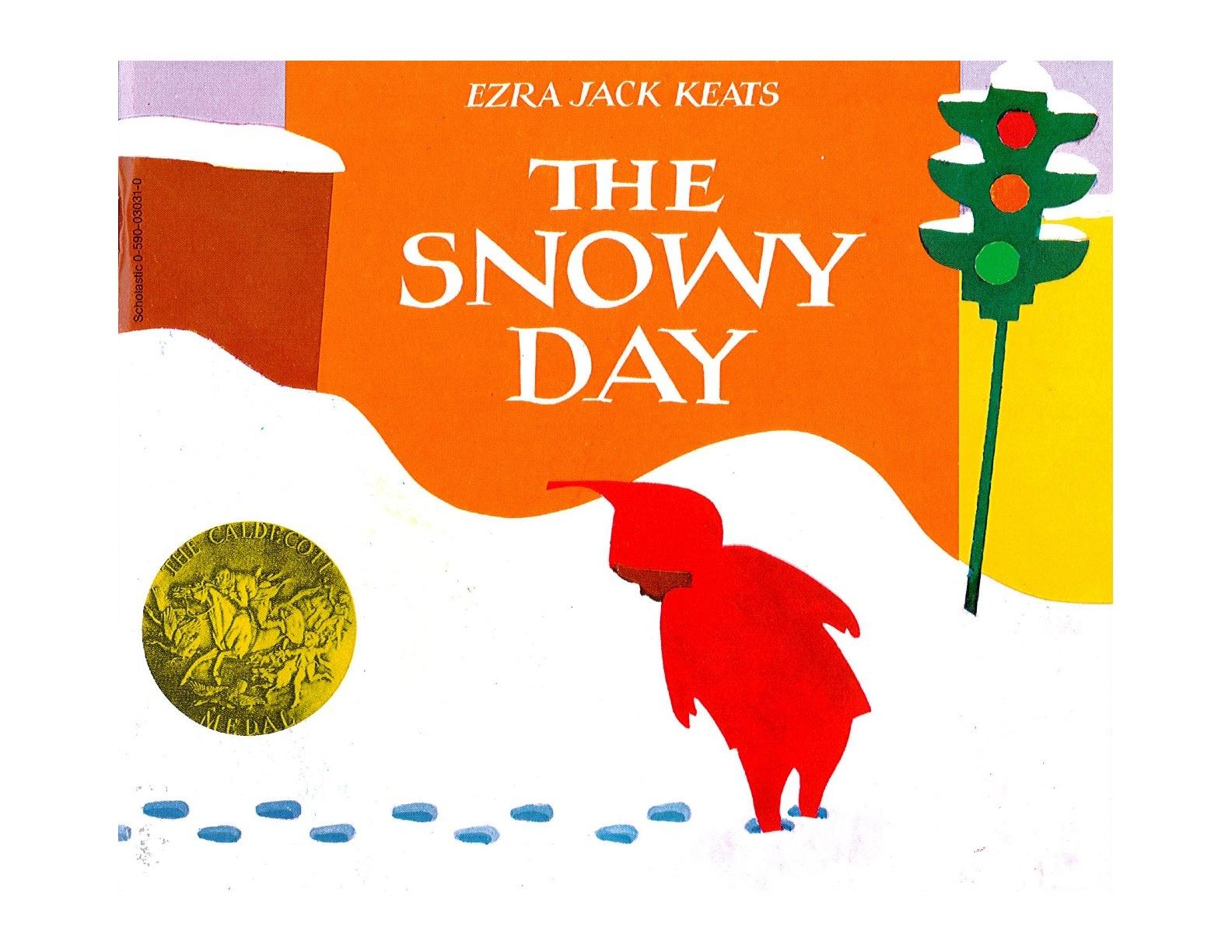 Ezra Snowy Day Clipart.