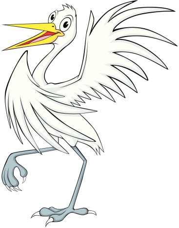 Snowy Egret Clip Art, Vector Images & Illustrations.