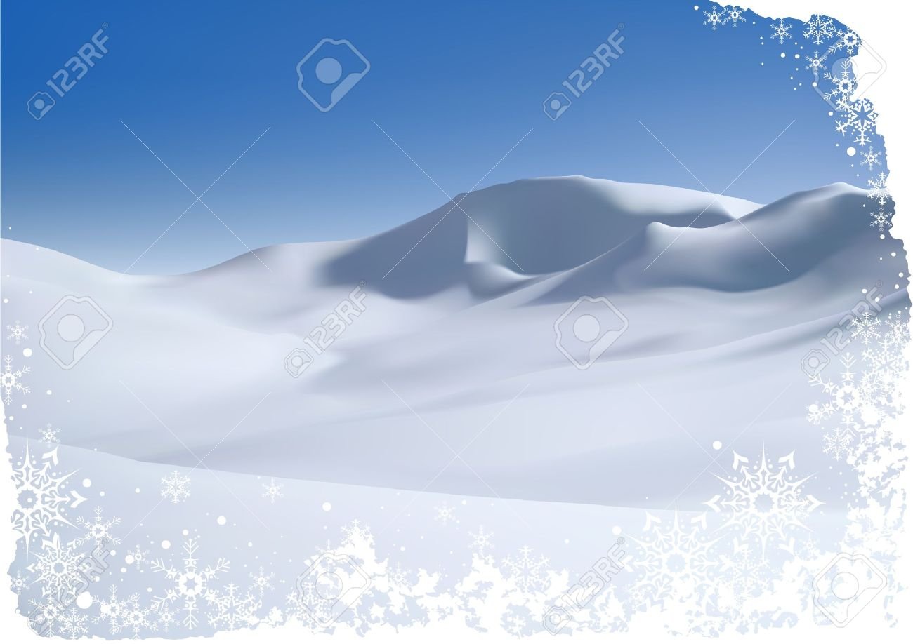 snowy mountain christmas clipart clipground