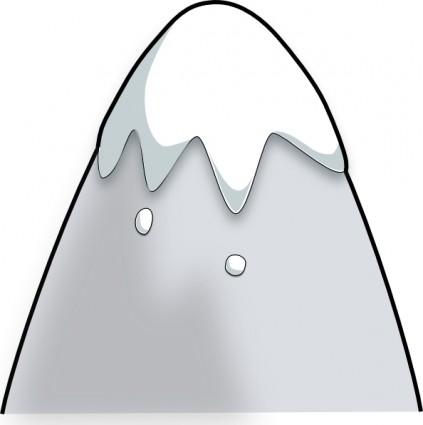 Snowy Mountain Clipart.