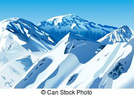 Snowy mountains Illustrations and Clipart. 3,455 Snowy.