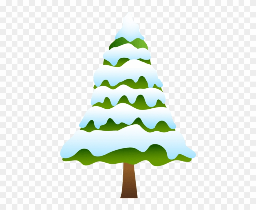Free Png Snowy Pine Tree Png Images Transparent.