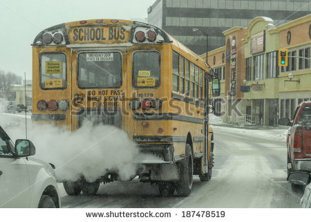 School Bus Safety Stock Images, Royalty.