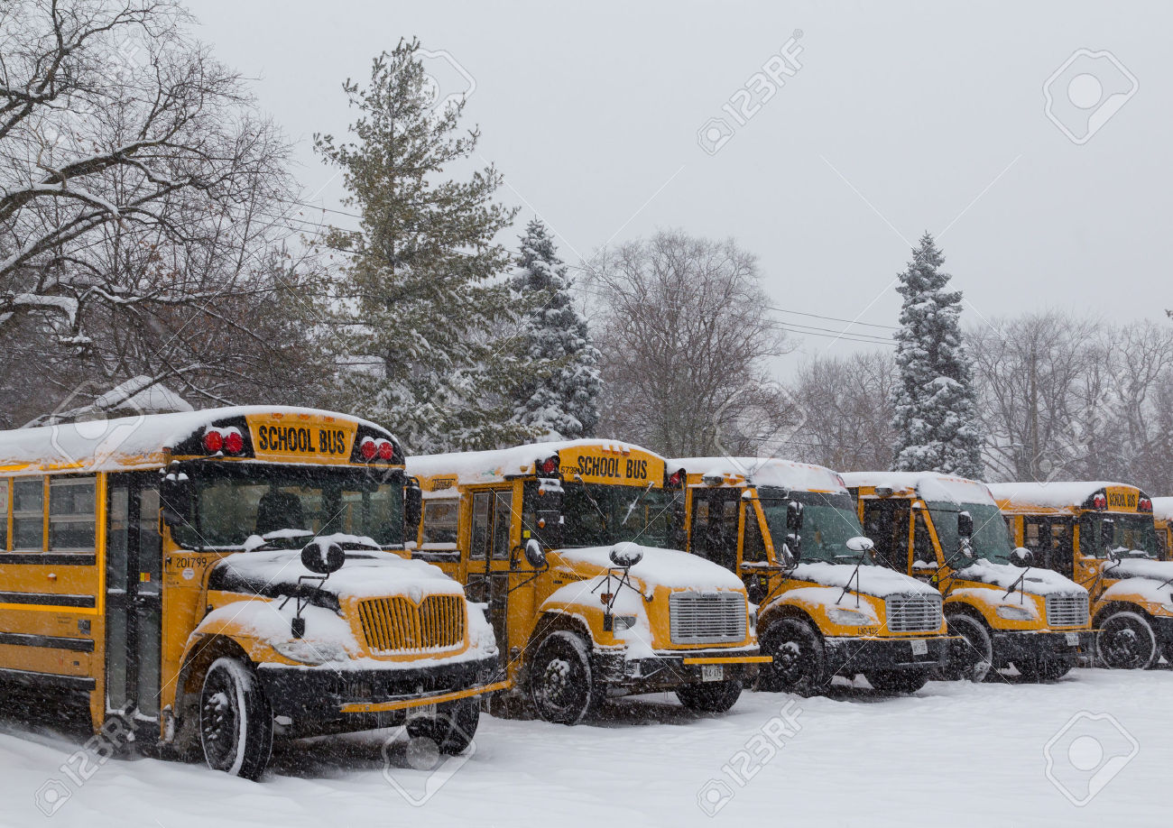 Bus Snow Stock Photos & Pictures. Royalty Free Bus Snow Images And.