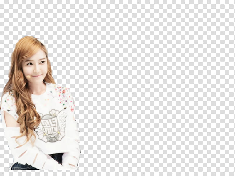 SNSD Jessica transparent background PNG clipart.
