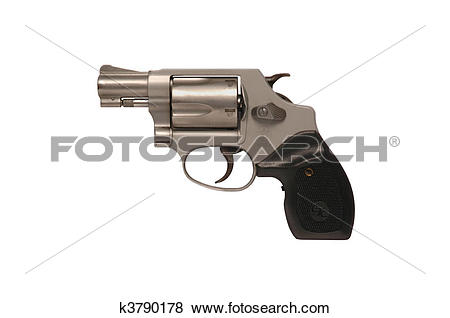 Pictures of Smith & Wesson snub nose police revolver k3790178.