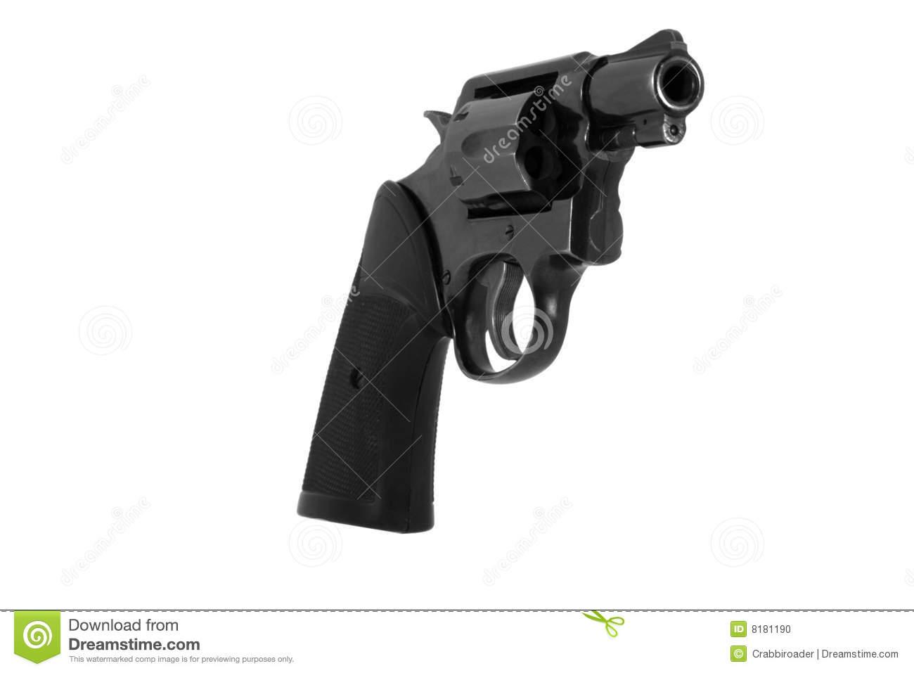 Snub Nose Revolver Stock Images.