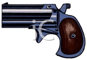 Snub Nose Vintage Gun.