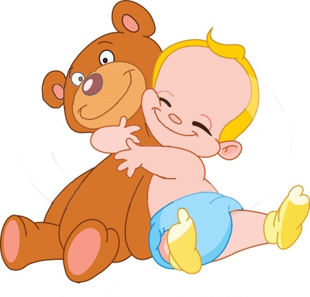 Clip Art Group Of Babies Clipart.