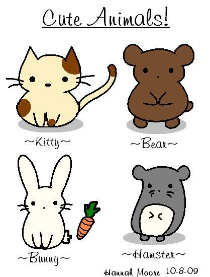 cute little guys to draw.