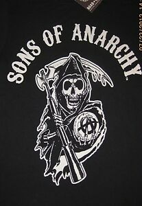 Details about Sons of Anarchy Reaper Logo T.