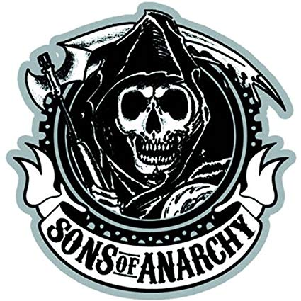 Sons Of Anarchy Circle Logo Patch.