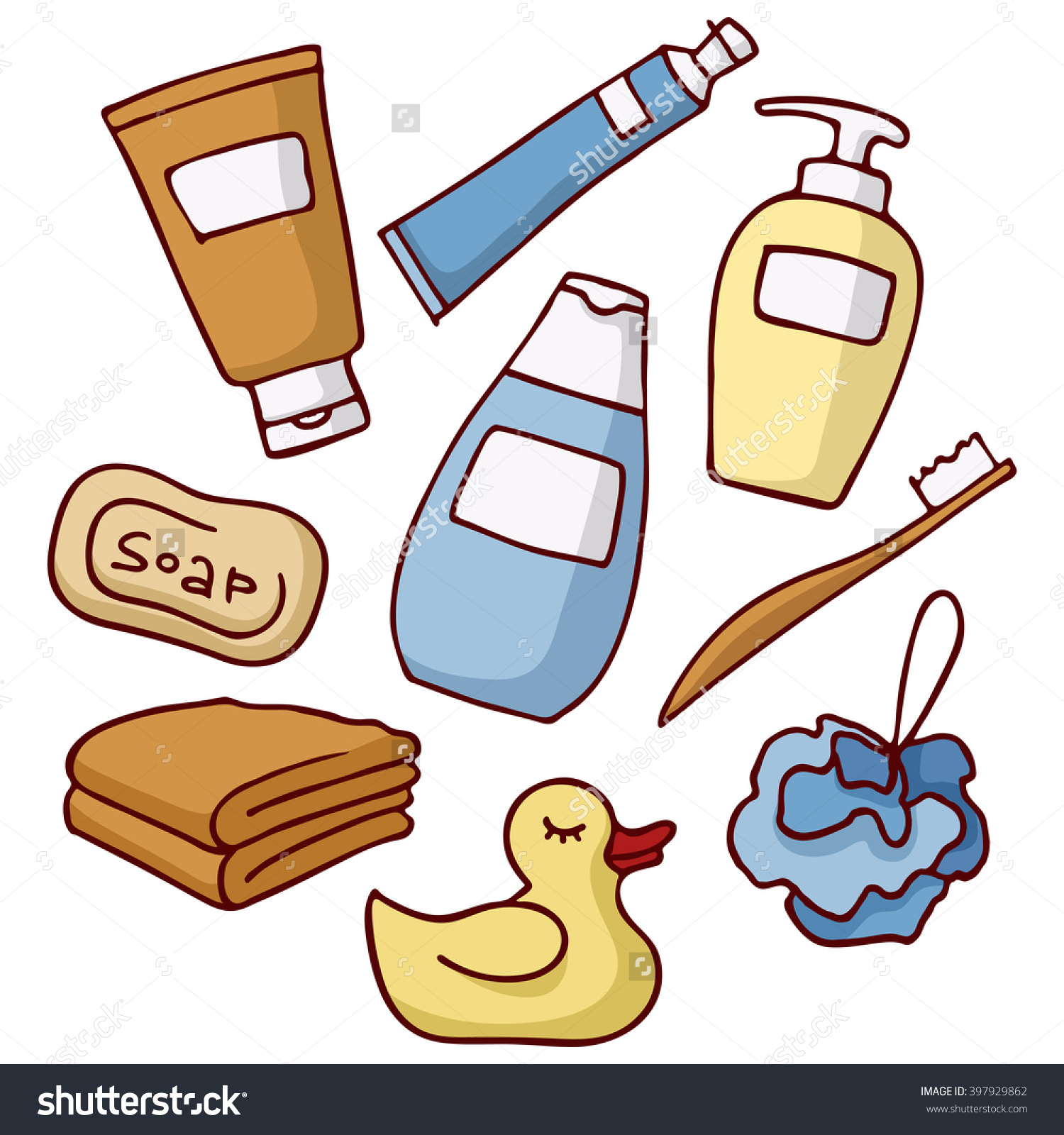 Soap and shampoo clipart 9 » Clipart Station.