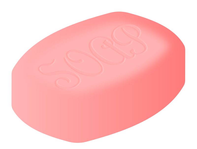 Bar Of Soap Clipart.