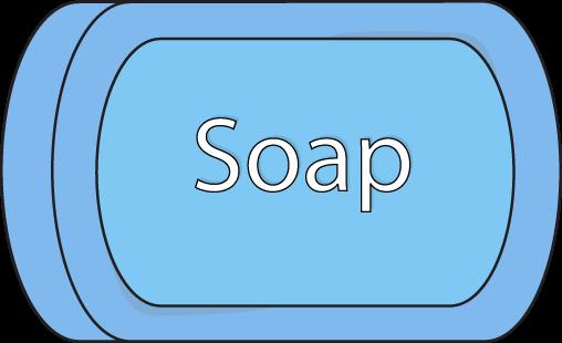 Bar of soap clipart.