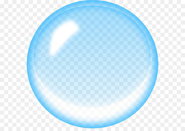 Soap bubble Blue Clip art.