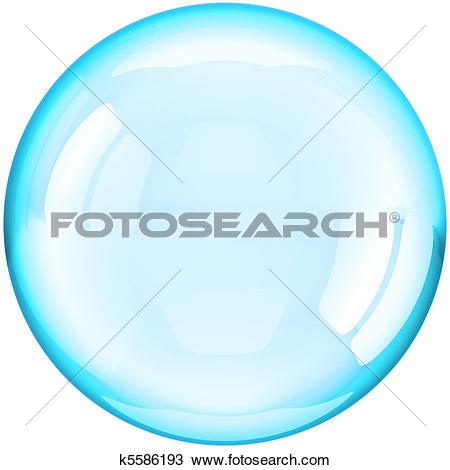 Clipart of Soap bubbles k5635641.
