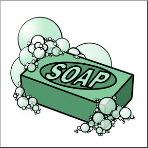 Clip Art: Soap Color I abcteach.com.