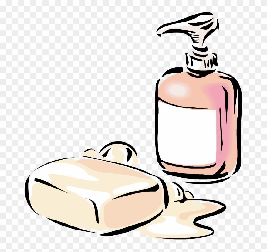 Soap Clip Art Free Black And.
