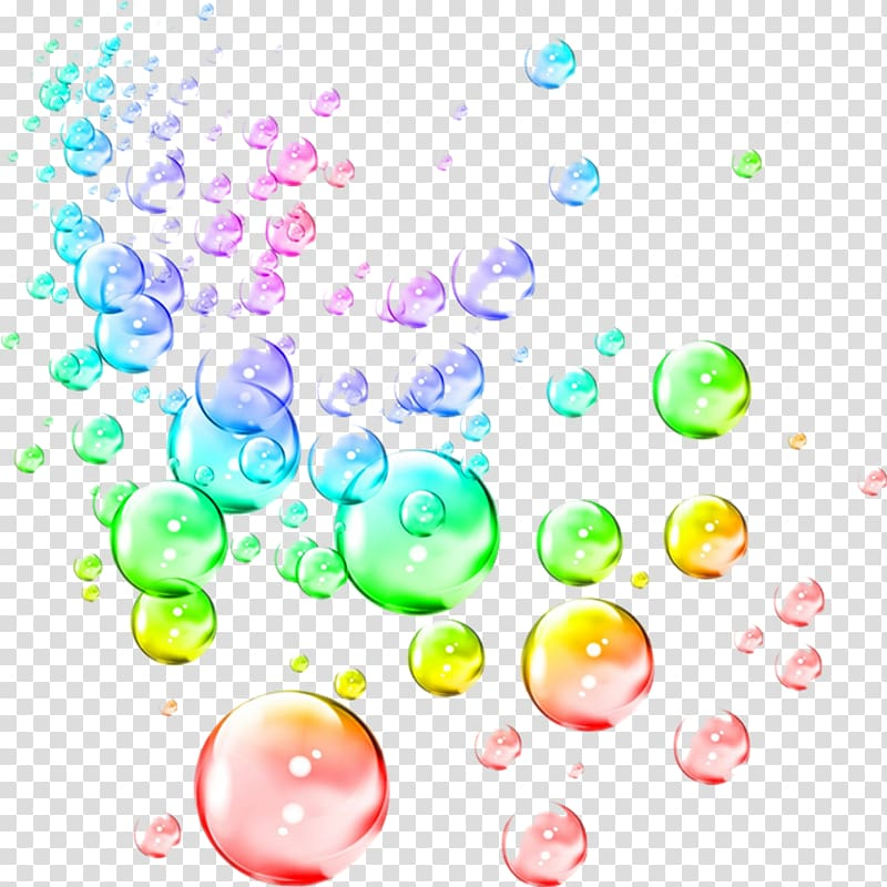 Bubbles illustration, Soap bubble Drawing Rainbow , colorful.