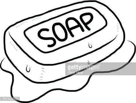 soap Clipart Image.