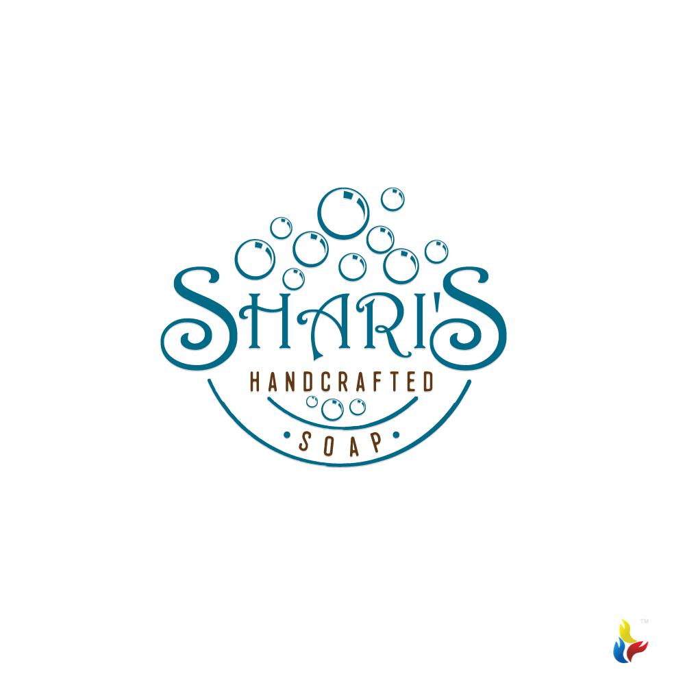 Shari\'s Handcrafted Soap Logo & Design.
