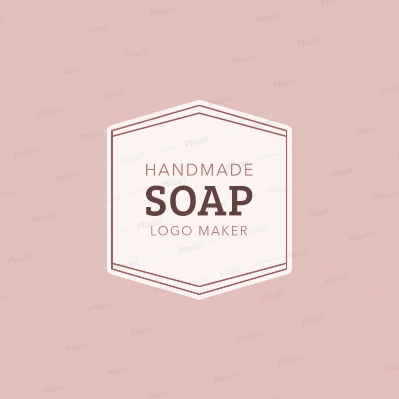 Handmade Soap Logo Maker 1159a.