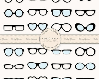 Glasses clip art.
