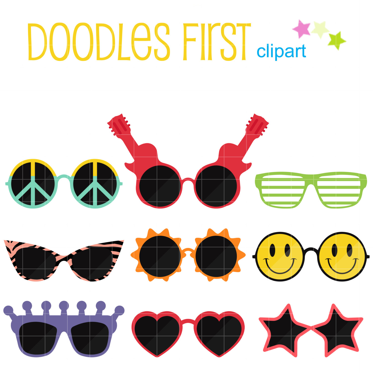 Sunglasses clipart.
