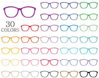 Glasses clip art.