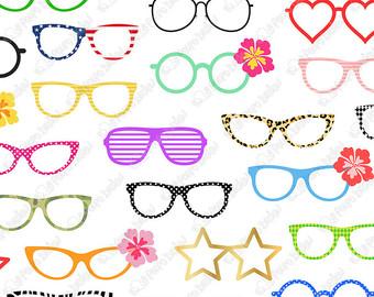 Eyeglasses clip art.