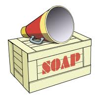 Clipart soap box.